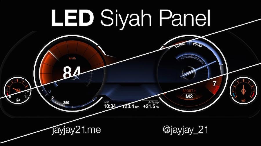 jayjay21-bmw-otomotiv-araba-performans-modifiye-siyah-gosterge-paneli-led-isik