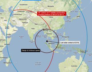 MH370'in varmış olabileceği yerler