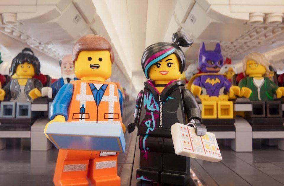 THY Lego filmi temalı güvenlik videosu
