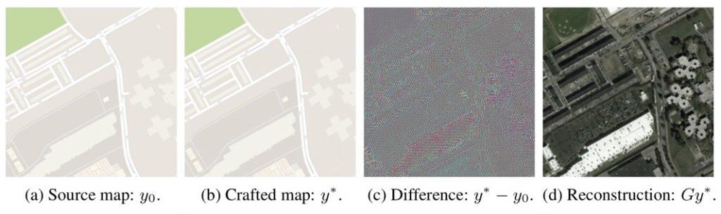 İki harita arasındaki farkı inceleyen ekip, renklerdeki detayları farketmiş