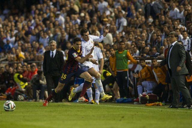 Bartra yükleniyor, Bale direniyor