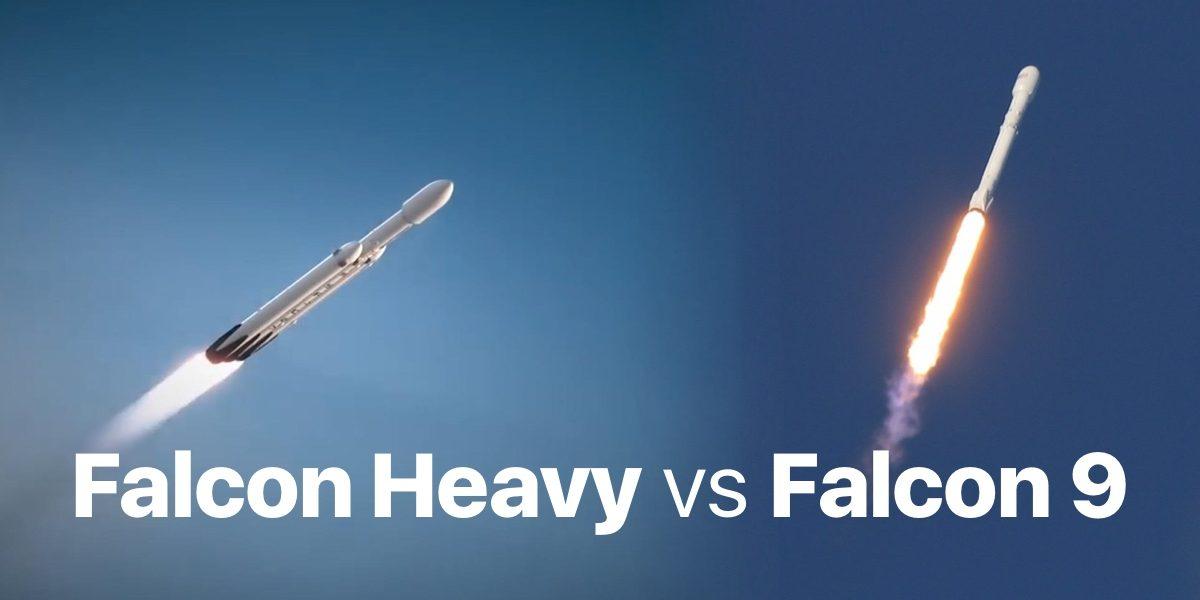 Falcon Heavy ile Falcon 9 karşılaştırması