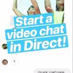 Instagram Video Chat